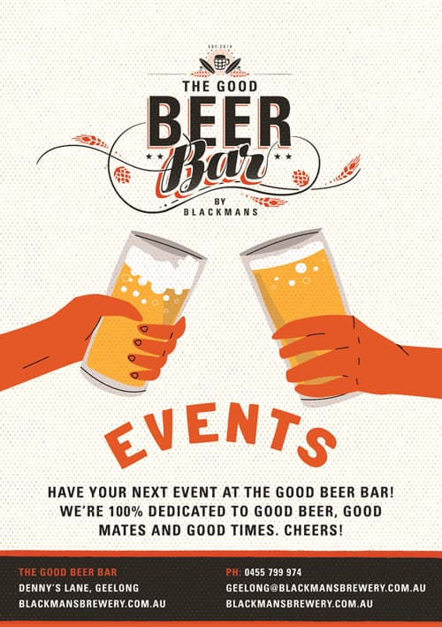 Blackmans Brewery Good Beer Bar Events