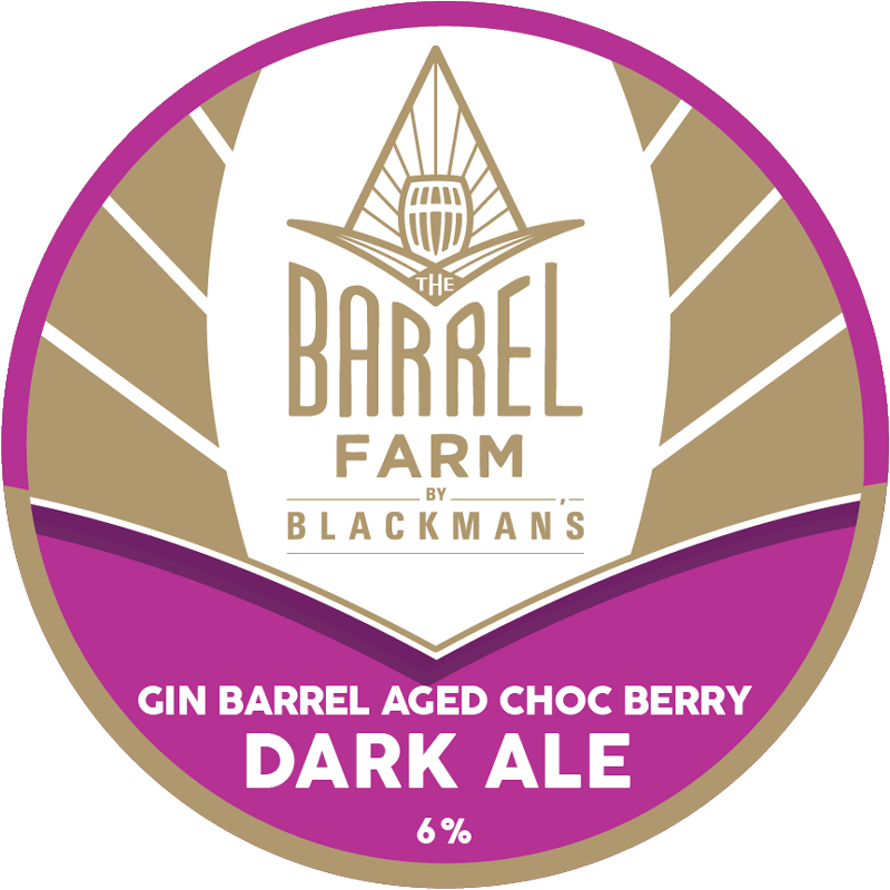 Gin Barrel Aged Berry Dark Ale