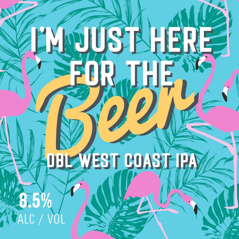 """""""I'm just here for the beer"""" – Double IPA"""