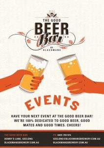 The Good Beer Bar - Events