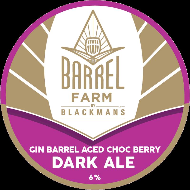 Gin Barrel Aged Berry Dark Ale