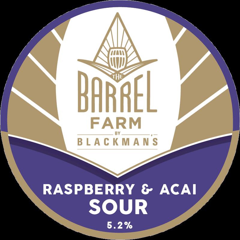 Raspberry and Acai Sour