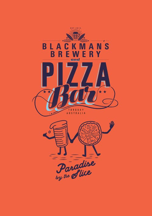 Blackmans Brewery Pizza Bar Menu
