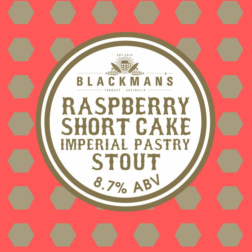 Raspberry Shortcake Imperial Pastry Stout