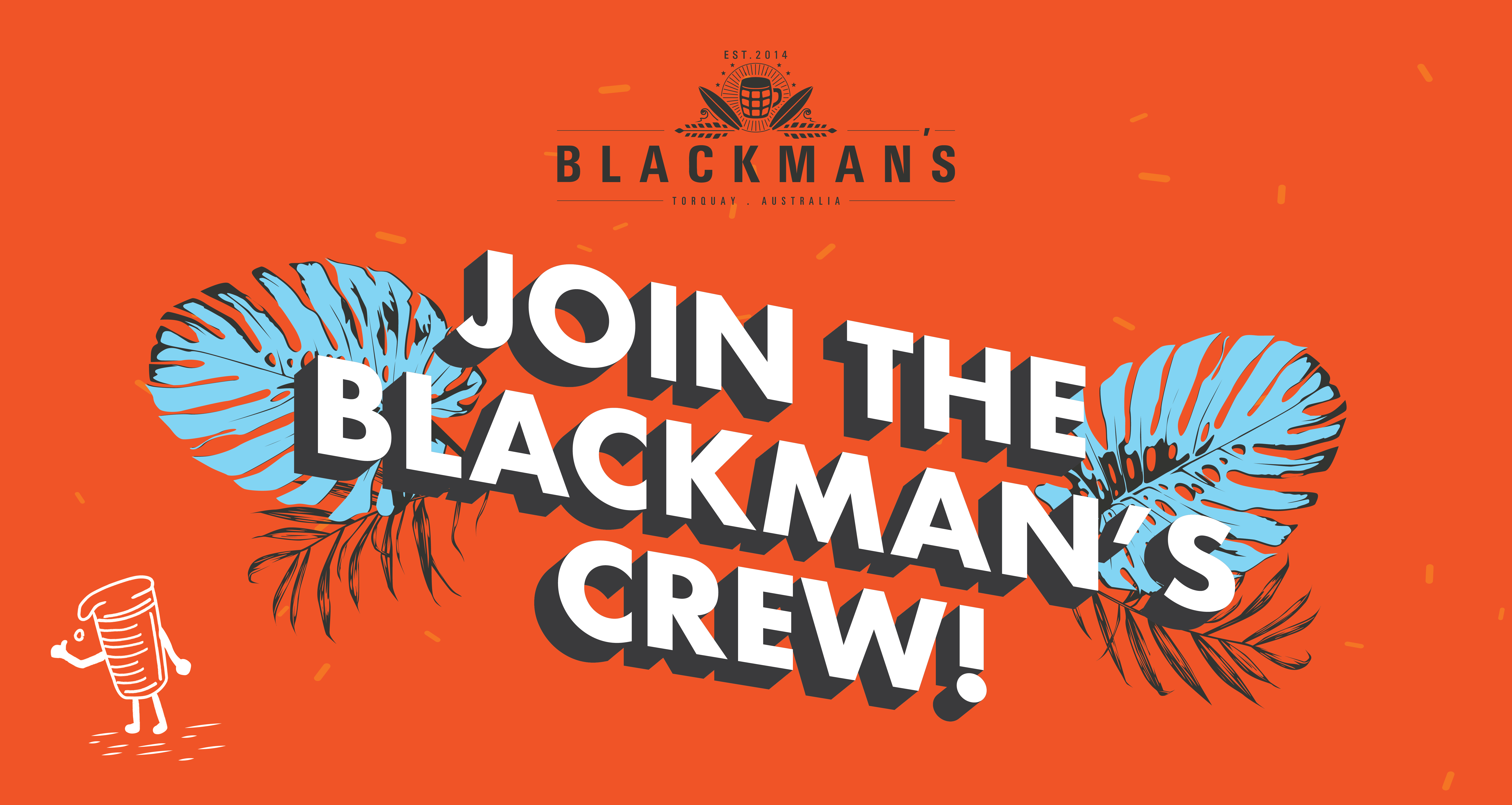 Join the Blackman's Team